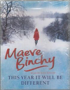 Maeve-Binchy-This-Year-Will-Be-Different-4-Cassette-Audio-Book-NEW-Short-Story