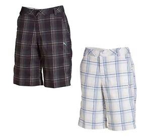 Puma-Boys-Golf-Plaid-Tech-Short-Junior-560663-Pick-Size-and-Color