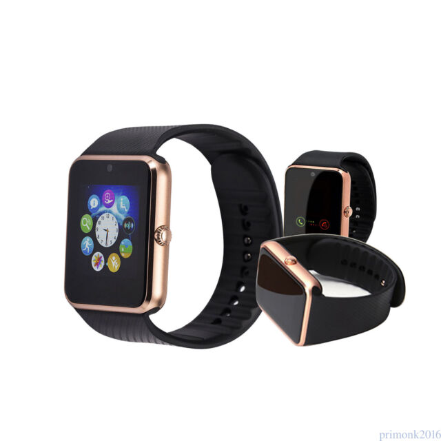 GT08 Bluetooth Smart Wrist Watch Touch Screen Phone Mate for Android IOS Nicer