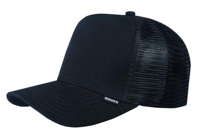 Djinns Hft Trucker Rib Cap Stop Soft Aztec Check Tweed Rubber Paris Mesh Cap