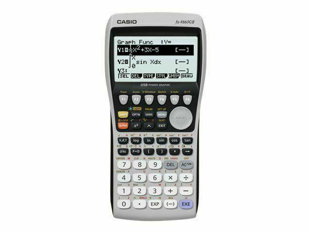 Casio FX-9860GII Grafikfähiger Taschenrechner