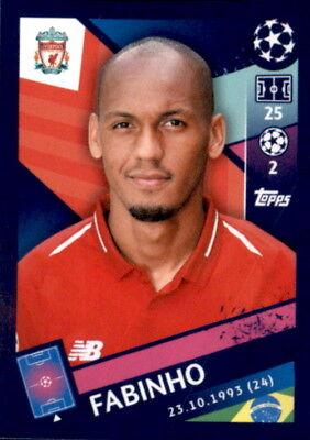 Begeistert Topps Champions League 18/19 - Sticker 221 - Fabinho