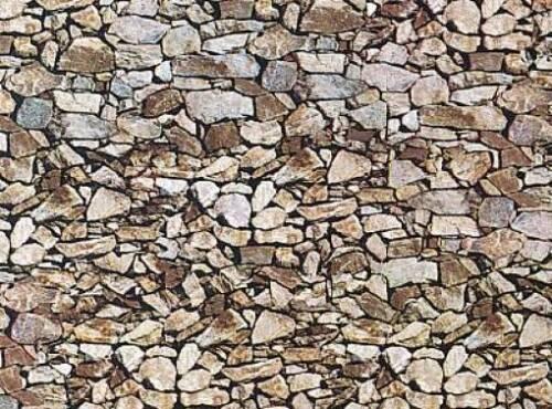 170610 Faller HO Muro in pietra naturale mm.250 x 125