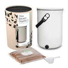 Bokashi Organko 2.0 - Innovative next-gen kitchen composter with active EM bran