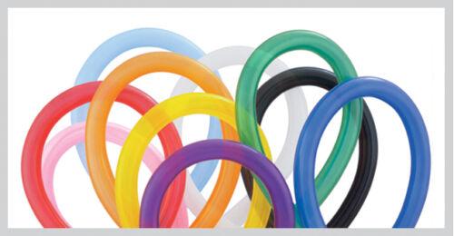 260q 100 paquete de Qualatex modelización Globos-Varios Colores 160q 360q