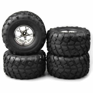 4Pcs-12mm-Hex-Rubber-Bigfoot-Tires-Wheel-Rim-for-1-10-Monster-Truck-RC-Model-Car