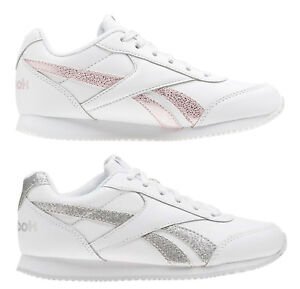 REEBOK-ROYAL-CLASSIC-JOGGER-2-Kids-scarpe-donna-sportive-sneakers-pelle-running