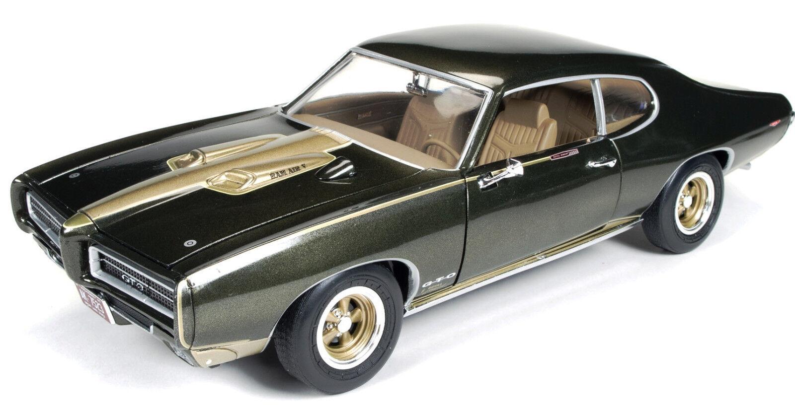 1969 pontiac gto royal bobcat braun   Gold - metallic - 1,18 auto - welt 1042