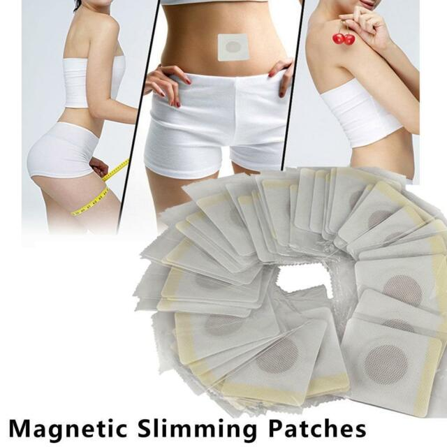 50Pcs Navel Stick Magnetic Patch Slim Weight Loss Slimming Creams Burning Fat