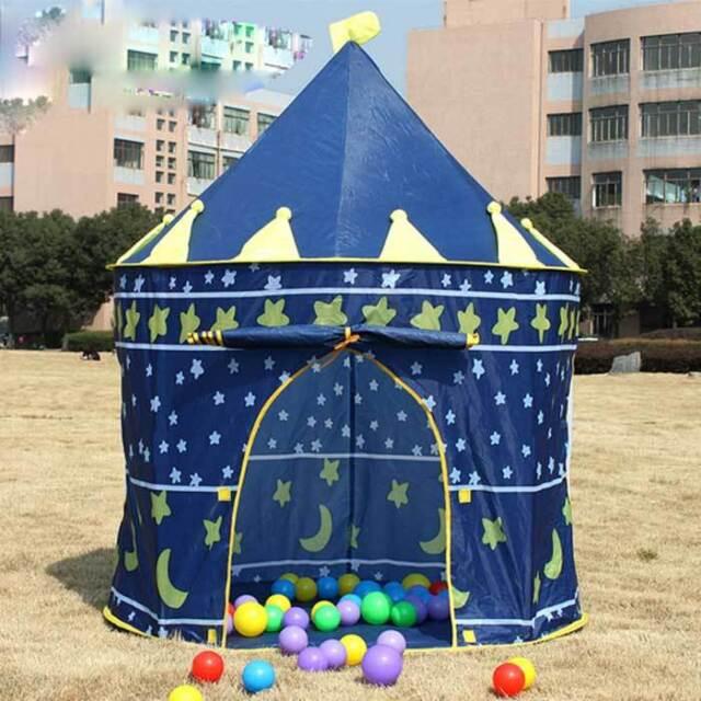 Children Beach Tent, Kids Castle Indoor Outdoor Tents, Baby Toy Play Game Tent