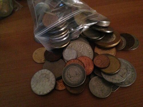 Nice Assorted Mix! Bulk Lot of 100 Assorted World Foreign Coins