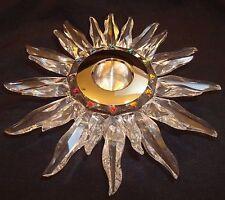 Swarovski Crystal Solaris Candleholder 236719 New Box & COA 7600 147 000  -223