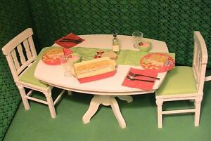American Girl Doll Retired Dining Room Set 2011 Nice!