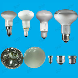 4x dimmable reflector spot light bulbs r39 r50 r63 r80 ses es bc lamps uk. Black Bedroom Furniture Sets. Home Design Ideas