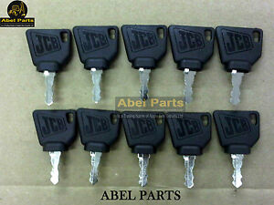 JCB-Parts-3CX-Genuine-JCB-Ignition-Keys-10-PCS