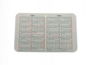 1998 Calendario.Dettagli Su Calendario Rolex 1997 1998 Originale Rolex Calendar Genuine