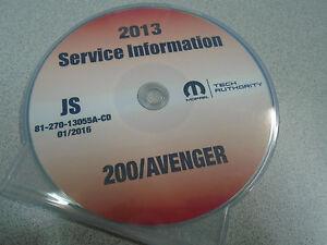 dodge avenger service manual