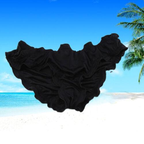 Donne Donna Costume Accartocciare Brasiliano Semi Tanga Slip Bikini