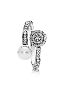 Pandora-ring-Authentic-Pandora-Radiant-Glow-Pearl-Ring-191044CZ-Box-Inc-S-56