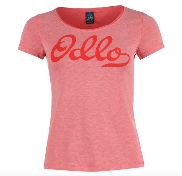 Odlo Ladies T-Shirt Dress Shirt Lollipop Pink all Sizes New with Label