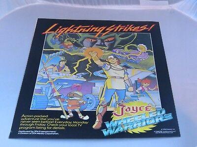 MOTU She-Ra And Jayce And The Wheeled Warriors VHS Store Display Promo