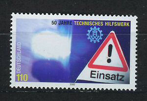 ALEMANIA-RFA-WEST-GERMANY-2000-MNH-SC-2091-Federal-disaster-relief
