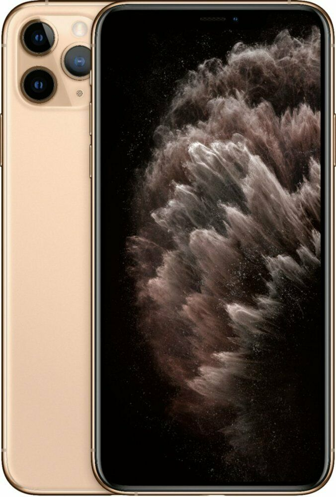 Apple iPhone 11 Pro Max 64GB Gold LTE Cellular Sprint MWG42LL/A