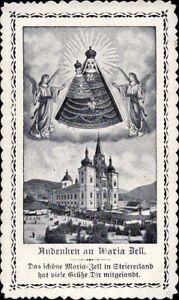 Maria-Celula-Wallfahrt-Cuadro-Santos-Amria-Austria-Koloriert-M-5959