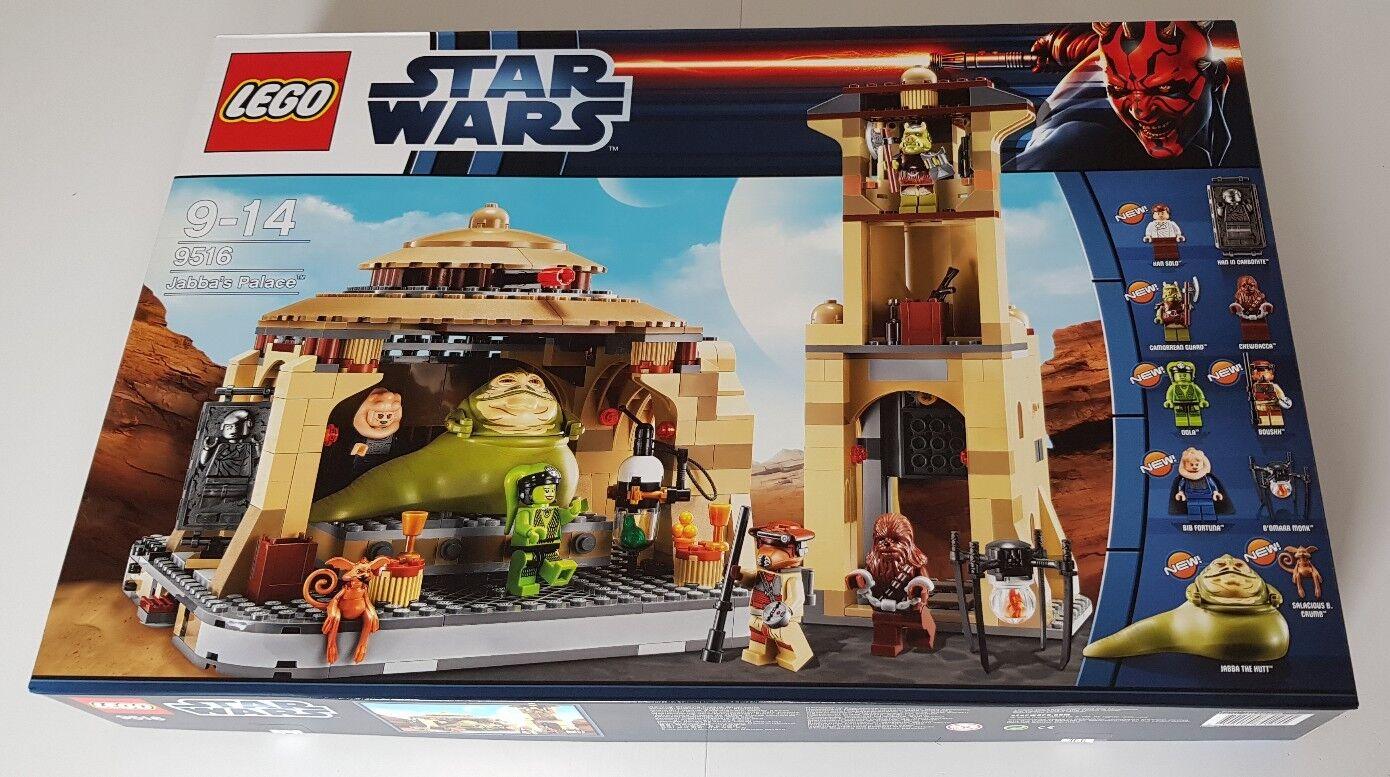 LEGO STAR WARS Jabba's Palace (9516) NEU - VERSIEGELT - MISB - FÜR SAMMLER