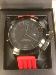 27456ee2a23 TW STEEL Canteen Cool Black 50mm Gents Watch Model TW822 w  Veloci ...