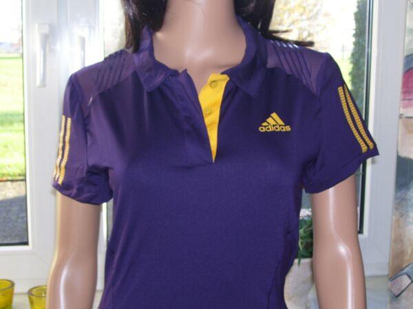 Adidas barricade Polo Damen Poloshirt Sportshirt violett ClimaCool S M L XL neu