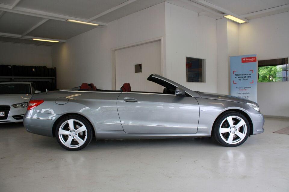 Mercedes E350 3,0 CDi Cabriolet aut. BE Diesel aut.
