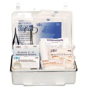 Pac-Kit 579-6084 Industrial #25 Weatherproof First Aid Kit, 159-pieces, Plastic