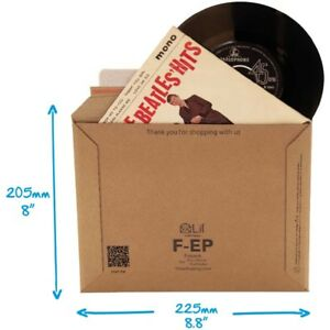 10x-Stiff-Strong-7-Vinyl-EP-Single-Record-45RPM-Music-Postal-Mailer-225-x-205mm