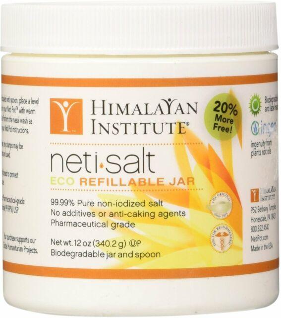 Neti Pot Salt by Himalayan Institute, 12 oz 1 pack