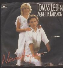 "7"" Tomas Ledin Agnetha fältskög (ABBA) Never Again/Just for the fun 80`s"