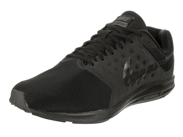 7313b99007a8 Nike Downshifter 7 Mens Running Shoes Wide Width EEEE Black 10.5 for ...