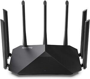 Speedefy K7 AC2100 Smart WiFi Wireless Router Dual Band Gigabit IPv6 4x4 MU-MIMO