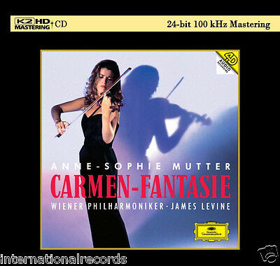 """Anne-Sophie Mutter Carmen-Fantasie"" Japan K2HD CD Limited Numbered New Sealed"