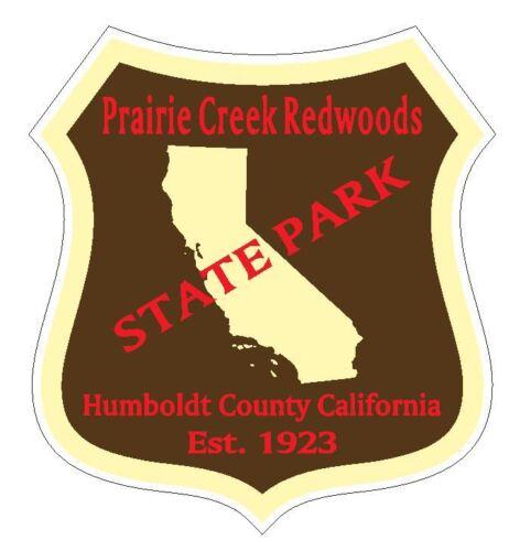 Prairie Creek Redwoods State Park Sticker R4899 California YOU CHOOSE SIZE