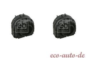 2 x FEBI Stabilisatorlager HA für VW EOS,GOLF V VI,JETTA III IV,PASSAT,SHARAN