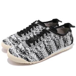 buy popular 3af75 89eec Details about Asics Onitsuka Tiger Mexico 66 Knit Black Grey Men Running  Shoes D703N-9090