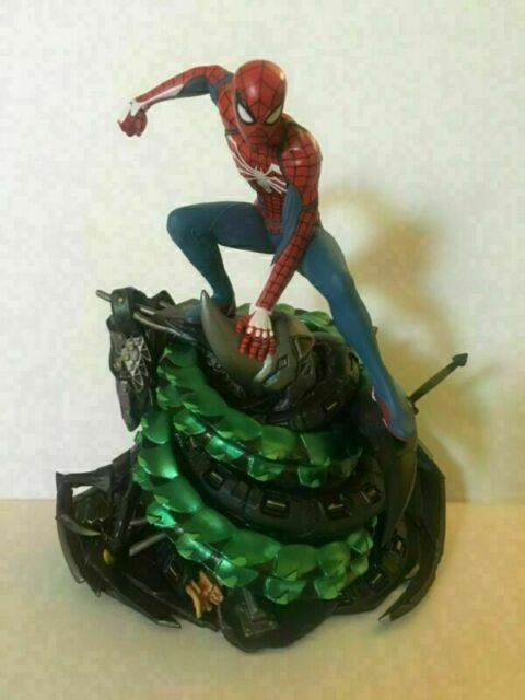 Anime Limited PS4 Spider-Man Collectors Edition Model Statue PVC Action Figure