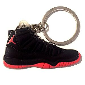 new product 87c39 ddd39 Image is loading AIR-JORDAN-XI-11-DIRTY-BRED-BLACK-RED-