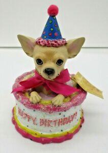 Prime Aye Chihuahua Birthday Cake No 13326 Westland Giftware Figurine Ebay Funny Birthday Cards Online Unhofree Goldxyz