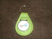 1960's Ford Falcon 1963 1964 1965 66 1967 68 1969 Leather Keychain Green