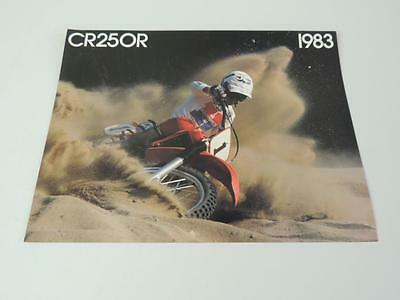 NOS 1981 CR450R CR450 CR250R CR250 CR125R CR125 Honda Dealer Brochure L209