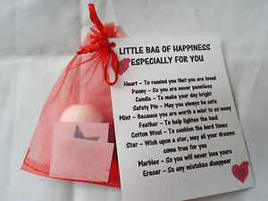 little bag of love happiness novelty survival novelty gift fun