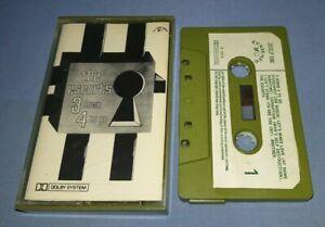 THE ESCORTS 3 DOWN 4 TO GO PAPER LABELS cassette tape album T7585