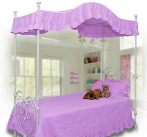 Twin Canopy Bed Topper
